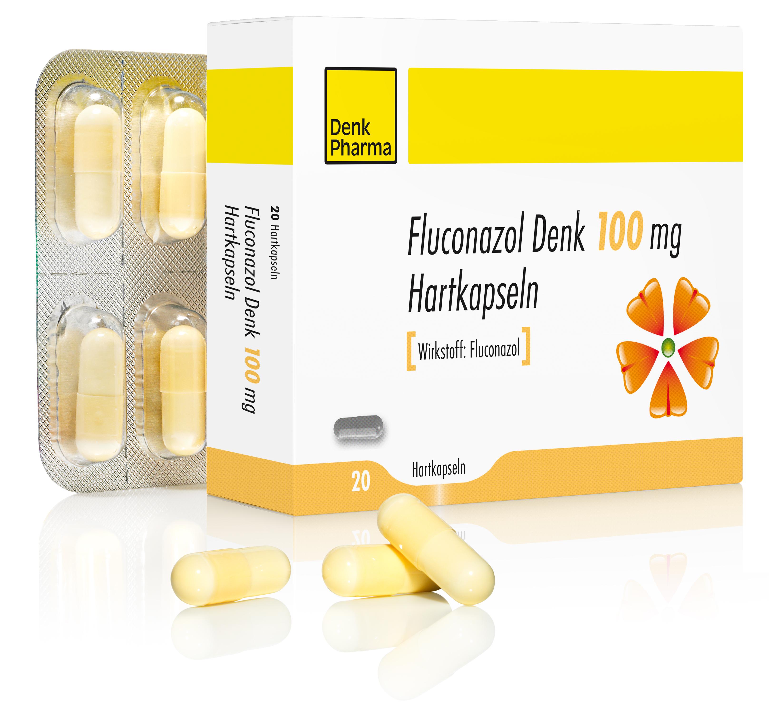 Fluconazol Denk 100mg gross