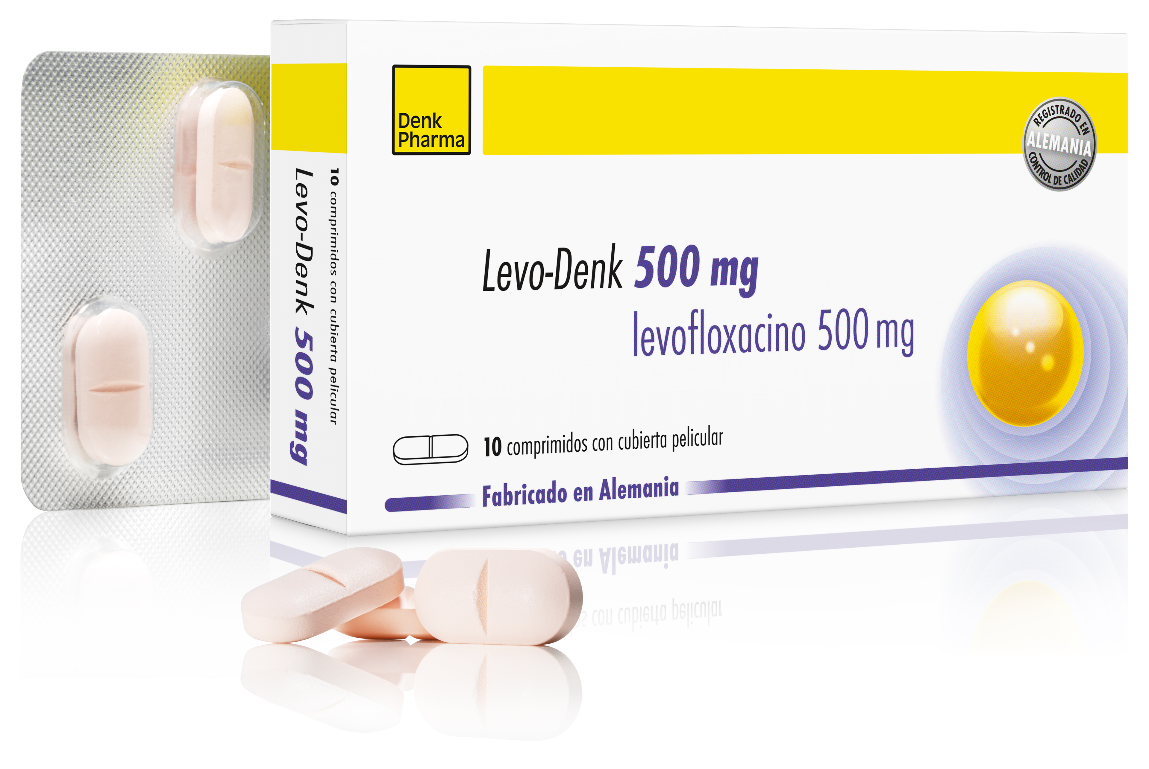 Levo-Denk 500mg Esp gross