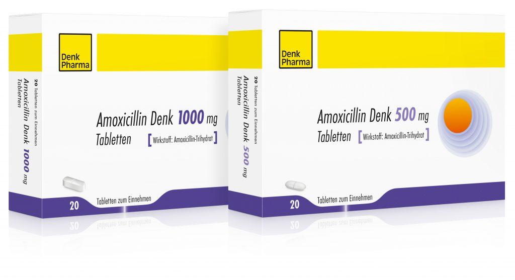 Amoxicillin Denk 500 + 1000mg gross