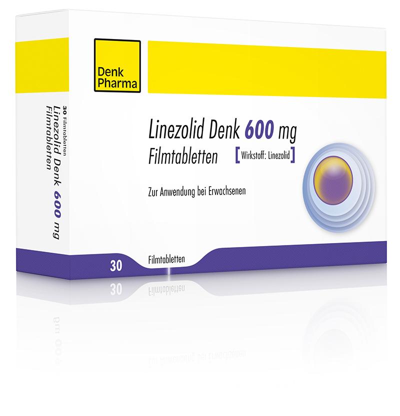 Linezolid Denk 600mg klein