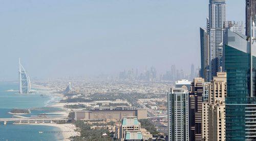 Dubai Burj al Arab Skyline