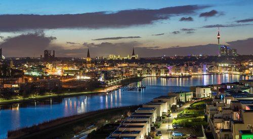 Dortmund Deutschland Skyline