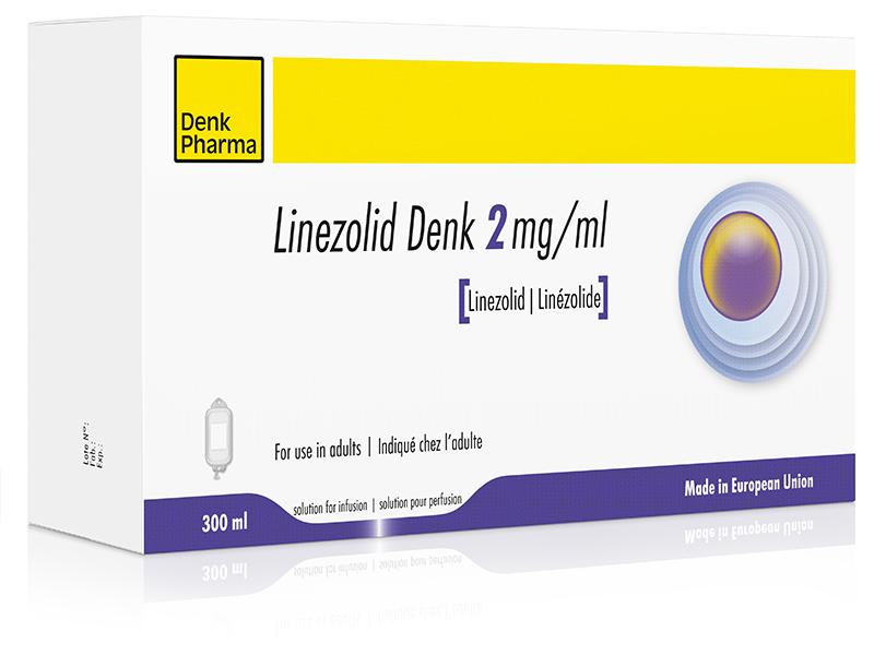 Linezolid Denk 2mg