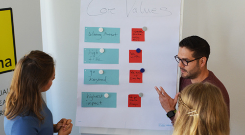 Core Values, Workshop